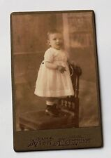 Antique Rare picture of little princess Girl 1886-1890 year