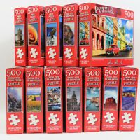 500Pieces DIY jigsaw Puzzle Landscape Painting Adult Puzzles Kid Educational Toy