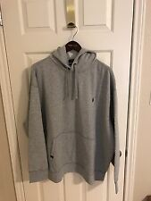 Polo Ralph Lauren Big and Tall Mens Gray Performance Hoodie Sweatshirt NWT 2XB