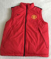 Mens Nike Manchester United Bodywarmer/ Gilet Size L