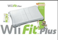 Nintendo Wii  Balance Board Includes Wii Fit Plus Game  tested & Working