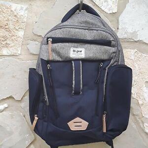 BB Gear Back Pack Diaper Backpack Color Blue Navy