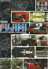 CATALOGUE FUJIMI 1990 - VOITURES / AVIONS / HELICOPTERES / VEHICULES MILITAIRES
