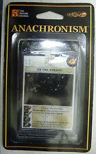 ANACHRONISM CARD SET TRIKING JIE THE TYRANT SET 2 CARDS 36 37 38 39 40 NEW MINT