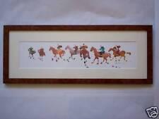 Chevaux cheval tableau cadeau breton déco marine  neuf