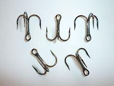 Bronze BULK 954 100 Eagle Claw Lazer Short-Shank 3X Treble Hooks Size 5