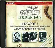 Gidon KREMER: LOCKENHAUS ENCORE Musical Jokes Grindenko Argerich Lubimov CD