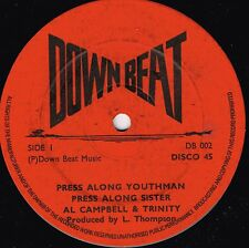 "down beat 12"":AL CAMPBELL & TRINITY-press along youthman  (hear)"
