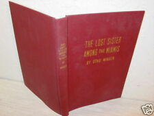 Vintage,Book,Lost Sister Among The Miamis,Indian,Kidnap
