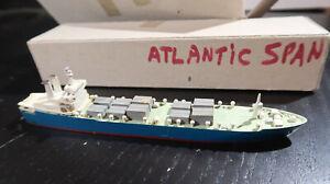 g 1:1250 Waterline ATLANTIC SWEDISH RORO CONTAINER SHIP CS ATLANTIC SPAN