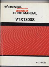 Honda VTX1300S CARB (03-09) Genuine Factory Repair Manual Book VTX 1300 S CY06