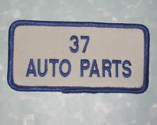 "37 Auto Parts Patch - 4"" x 2""  - Bremen Ohio"
