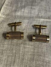 Men's Cufflinks Jewelry Xu-47 Vintage Swank Gold Tone