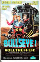 (VHS) Bullseye! - Volltreffer! - Michael Caine, Roger Moore, Sally Kirkland