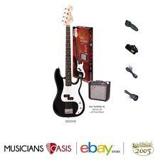 SX SB2SK P Style Bass & Amp Starter Pack