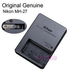 Genuine Original Nikon MH-27 Charger For Nikon 1 J1 J2 J3 EN-EL20 Battery