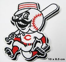 Cincinnati Reds Running Man Maillot Logo Thermocollant Patch Brodé Veste Badge