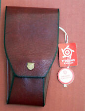 New 3 Piece Pfeilring Solingen Manicure Set in Soft Leather Case with Tags