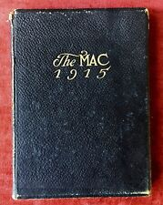 THE MAC 1915 YEARBOOK - Macalester College- St Paul, MN