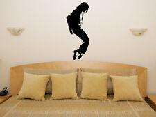 Michael Jackson Moonwalk Música Salón adhesivo para dormitorio pared imagen