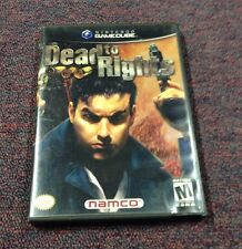 Dead to Rights (Nintendo GameCube, 2002) Namco