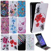 LEATHER FLIP WALLET CASE COVER SKIN CREDIT CARD SLOT FOR VARIOUS MOBILE PHONE