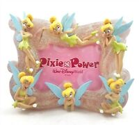 Walt Disney World Pixie Power Tinker Bell Picture Frame Holds 3.5x5 Photo