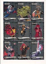 Marvel Vibranium Complete Set  (90 Cards)     NICE!!!