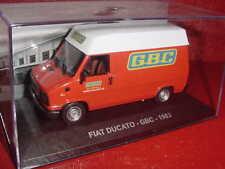 FIAT DUCATO PUB GBC 1983 1/43 IXO EN BOITE