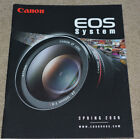 Canon EOS System Sales Guide 60 Pages - READ TO SEE MODELS COVERED LQQK
