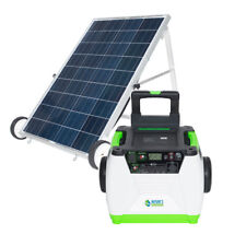 Portable Nature's Generator 1800W Solar & Wind Powered Generator - GOLD System