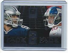 2014 Panini Elite Tony Romo Eli Manning Face To Face #13 (Cowboys)