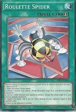 YU-GI-OH CARD: ROULETTE SPIDER - LDK2-ENJ30 1ST EDITION
