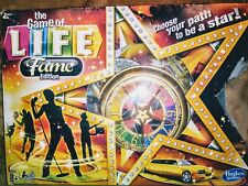 The Game of Life Fame Edition Board Game Hasbro 2013 Complete Free Shipping