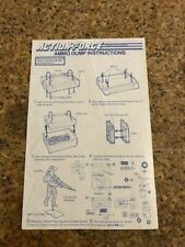 GI JOE ACTION FORCE AMMO DUMP  Instruction Sheet