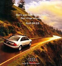 1998 Audi A4 2.8 14-page Original Car Sales Brochure Catalog
