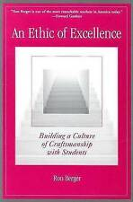 NEW An Ethic of Excellence By Berger Paperback