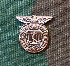 Us Merchant Marine Honorable Service Lapel Pin