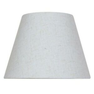Mix and Match 10 inch x 7.5 inch Oatmeal Round Accent Lamp Shade