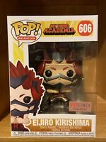 Funko Pop Eijiro Kirishima Metallic #606 Box Lunch Exclusive MHA Anime W/PP