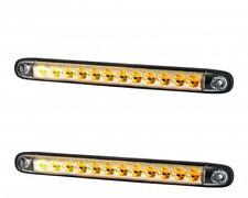 2x 12V 24V LED dynamic progressive direction indicators car van bus SUV truck