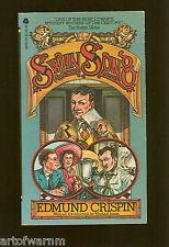 SWAN SONG - Gervase Fen UK mystery  by Edmund Crispin  1st  US SB