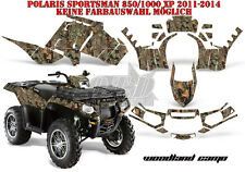 AMR RACING DEKOR GRAPHIC KIT ATV POLARIS SPORTSMAN MODELLE WOODLAND CAMO B