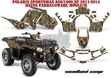 AMR Racing DECORO GRAPHIC KIT ATV POLARIS SPORTSMAN modelli WOODLAND CAMO B
