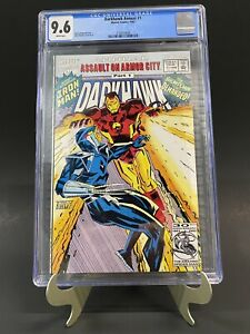 Darkhawk Annual #1 CGC 9.6 White Pages Iron Man Cover Newly Graded