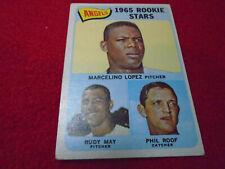 1965 Topps Baseball Partial Set Break You Pick 351-598 Mid Grade SP's Hi #'s