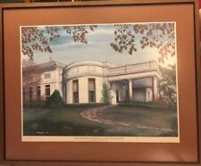 Kentucky Artist of Property C G Moorehead Print Signed Limited Edition COA Frame