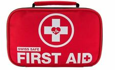 New 2-in-1 First Aid Trauma Medical Emergency Bag,Stocked Outdoors Survival Kit