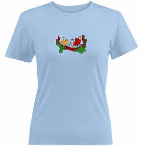 Simba Pumbaa Timon Junior Women Tee T-Shirt Lion King Best Friends Hakuna Matata