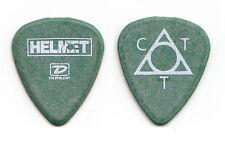 Helmet Chris Traynor Signature Green Guitar Pick - 2005 Tour